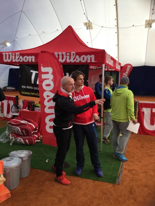 Wilson World Demo Tour Italy